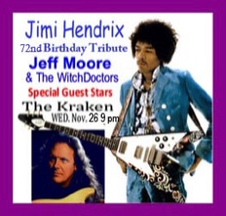 Jimi Hendrix Birthday Celebration 2009 hosted by Jeff Moore Guitar