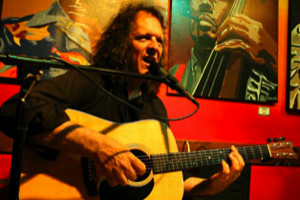 Jeff Moore Guitar-unplugged at Le Papagayo in Leucadia